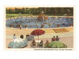 Pool  Washington Park  Racine  Wisconsin