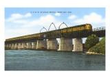 Railroad Bridge  Green Bay  Wisconsin
