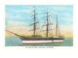 Star of India  Tall Ship  Maritime Museum  San Diego  California