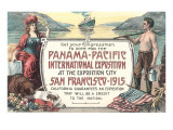 Promotion for Panama-Pacific Exposition  San Francisco  California