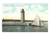 Lighthouse  Milwaukee  Wisconsin