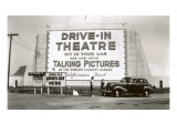 California's First Drive-In Movie Theater