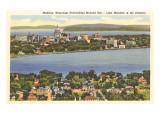 Lakes Mendota and Monona  Madison  Wisconsin
