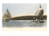 Yacht Racing on Lake Geneva  Wisconsin