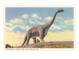 Brontosaurus  Dinosaur Park  South Dakota
