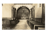 Interior  Mission Dolores  San Francisco  California