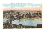 View over Pittsburgh  Pennsylvania