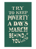 Keep Poverty Behind You