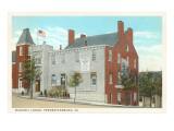 Masonic Lodge  Fredericksburg  Virginia
