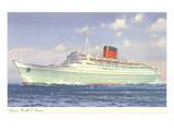 Cunard Caronia  Ocean Liner