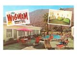 Wigwam Hotel  Vintage Motel