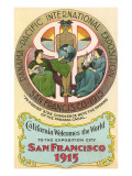 Ad for International Exposition  San Francisco  California