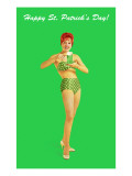 Happy St Patrick's Day  Bikini Girl