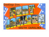 Greetings from Fort Jackson  South Carolina
