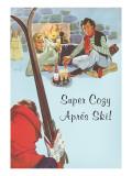 Super Cozy Apres Ski Scene