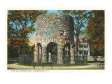 Ancient Viking Tower  Newport  Rhode Island