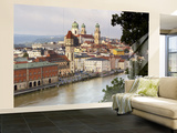 Townscape and Danube River