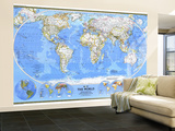 1988 World Map
