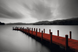 Wooden Landing Jetty-Red