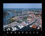 Annapolis, Maryland Reproduction d'art par Mike Smith