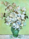 A Vase of Roses  c1890