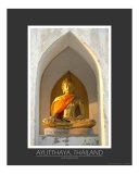 Buddha  Wat Naphramera  Ayutthaya  Thailand