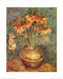 Vase de fleurs Reproduction d'art par Vincent Van Gogh
