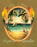 Isle del Sol Reproduction d'art par Catherine Jones
