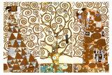 L'arbre de vie, 1909, fresque du Palais Stoclet Reproduction d'art par Gustav Klimt
