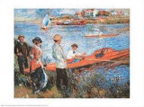 Oarsmen at Chateau  1879