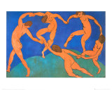 La danse Reproduction d'art par Henri Matisse