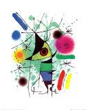 Le poisson chantant Reproduction d'art par Joan Miró
