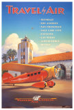 Western Air Express Reproduction d'art par Kerne Erickson