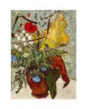 Vase de pavots Reproduction d'art par Vincent Van Gogh