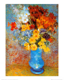 Vase de fleurs, 1887 Reproduction d'art par Vincent Van Gogh