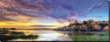 Willow Lake Spring Sunset