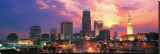 Cleveland Skyline at Sunrise Tableau sur toile
