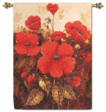 Garden Red Poppies
