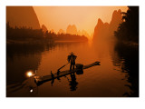 The Li River (or Morning Fisherman)