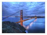 The Golden Gate Bridge at Dusk