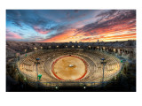 The Gladiator Arena at Sunset