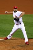 2011 World Series G 6 - Texas Rangers v St Louis Cardinals  St Louis  MO - Oct 27: Jake Westbrook