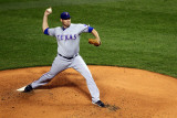 2011 World Series Game 6 - Texas Rangers v St Louis Cardinals  St Louis  MO - Oct 27: Colby Lewis