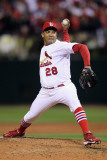 Milwaukee Brewers v St Louis Cardinals - Game Five  St Louis  MO - October 14: Octavio Dotel