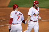 Texas Rangers v St Louis Cardinals  St Louis  MO - Oct 27: Lance Berkman and Matt Holliday