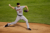 Detroit Tigers v Texas Rangers - Playoffs Game Six  Arlington  TX - October 15: Max Scherzer