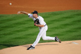 Texas Rangers v Detroit Tigers - Playoffs Game Five  Detroit  MI - October 13: Justin Verlander