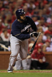 Milwaukee Brewers v St Louis Cardinals - Game Four  St Louis  MO - October 13: Prince Fielder