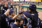 Milwaukee Brewers v St Louis Cardinals - Game Four  St Louis  MO - October 13: Rickie Weeks