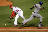 Texas Rangers v St Louis Cardinals  St Louis  MO - Oct 27: Mitch Moreland and Marc Rzepczynski